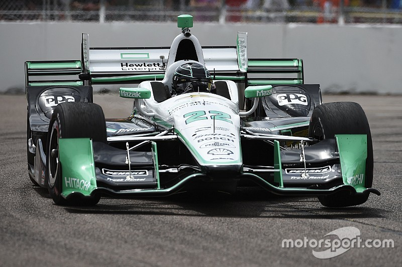 Auftakt in St. Pete: Simon Pagenaud mit Bestzeit, Crash von Will Power