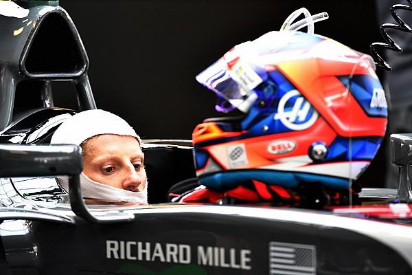 Romain Grosjean dévoile son casque pour 2018