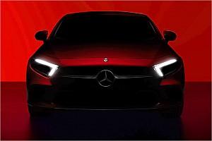 Mercedes CLS 2018 angeteasert