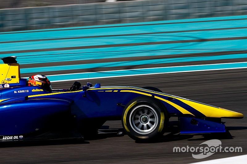 Kari tops opening day of Abu Dhabi GP3 testing