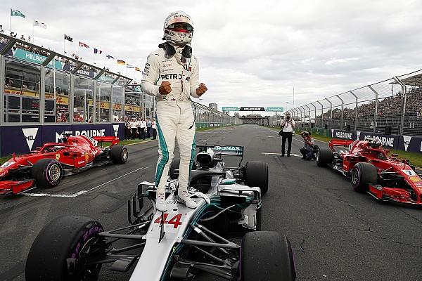 Fórmula 1 Crónica de Clasificación Hamilton logra la pole position para Australia y Pérez en 13°