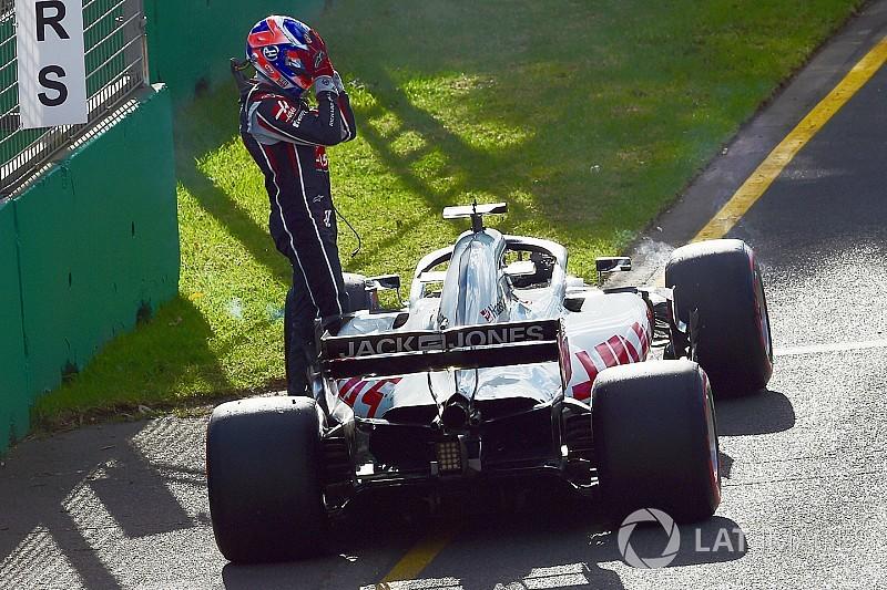 """Haas a le cœur brisé, Grosjean """"un peu envie de pleurer"""""""