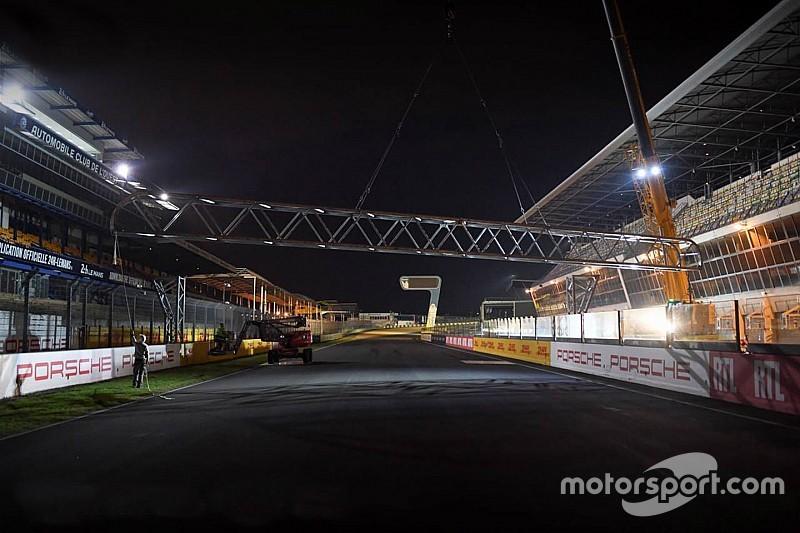 Au Mans, la nouvelle ligne de départ prend forme