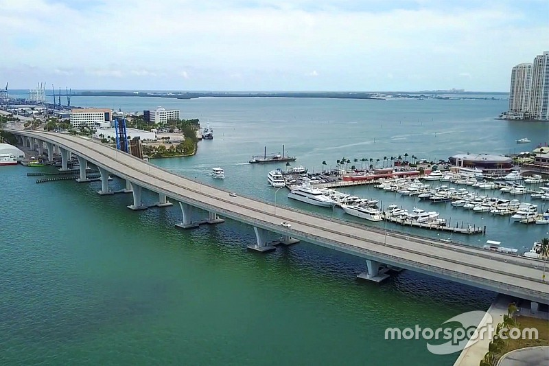 Explore the new Miami Formula 1 track