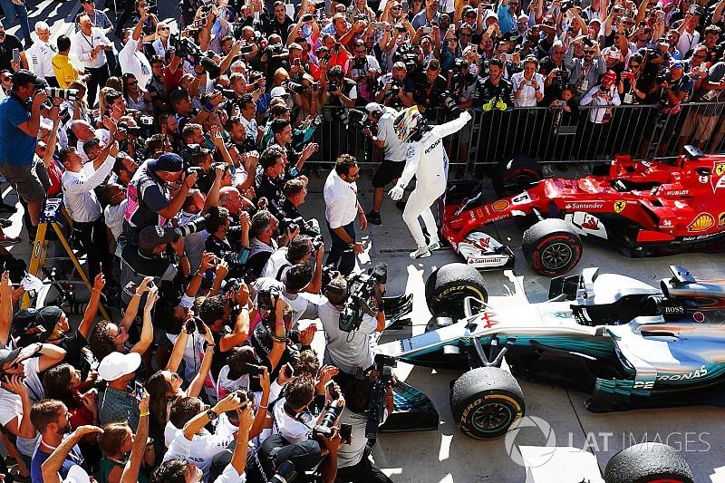 62 zwycięstwo Hamiltona w karierze GP USA 2017