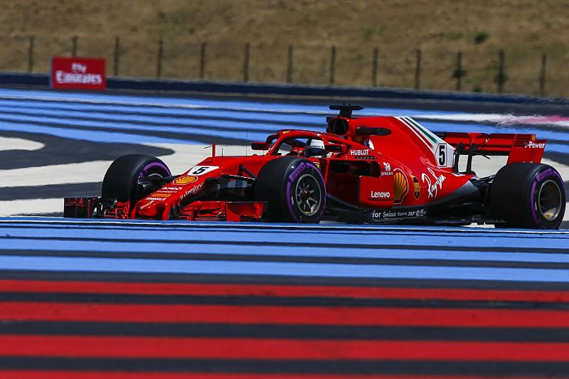 """Vettel: """"Ik denk dat de wagen snel is, maar ikzelf nog niet"""""""