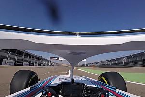 Megérkezett a halós onboard videó az új Williamsszel: figyeld Kubica súlyosan sérült kezét!