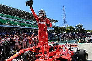 Formula 1 Race report Brazilian GP: Vettel wins as Hamilton recovers to fourth