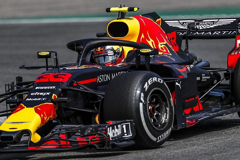 Verstappen afrontó problemas el viernes en Alemania