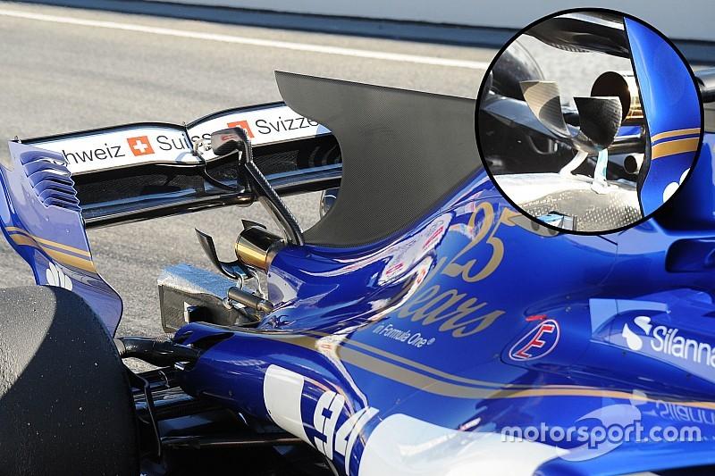 Tech update: Sauber's unique monkey seat solution
