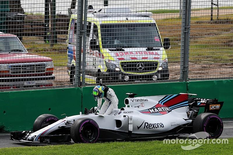 Massa señala que su Williams sufrió de un problema eléctrico