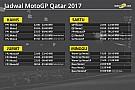Jadwal lengkap MotoGP Qatar 2017