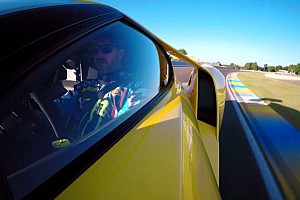 Automotive Breaking news Ken Block takes Ford GT out for a spin at Le Mans