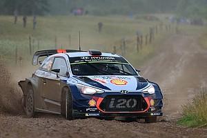 WRC Son dakika Ogier'nin podyuma çıkması Neuville'i hayal kırıklığına uğrattı