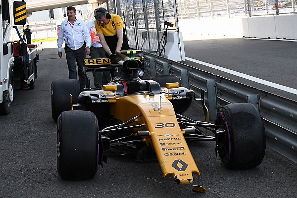 Formula 1 Breaking news Palmer accepts blame for mistake