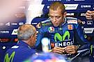 MotoGP Rossi even in top-tien bij natte eerste training Aragon, P1 Marquez