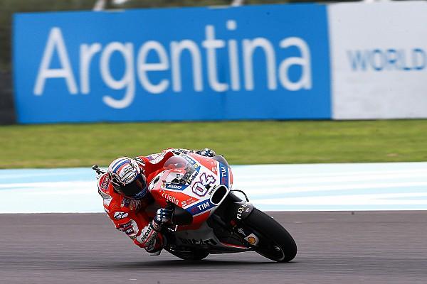 MotoGP Dovizioso critica e culpa Petrucci por queda na Argentina