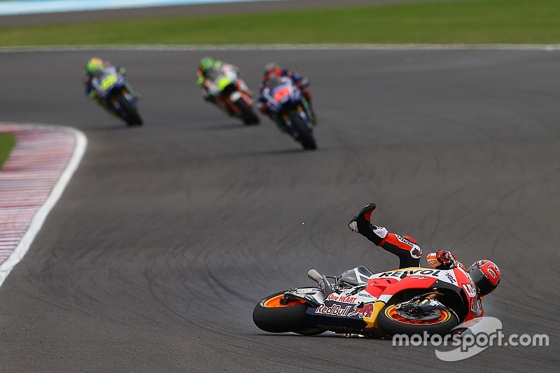 "Marquez: Argentina crash shows Honda still ""not ready"""