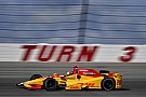 Pocono IndyCar: Hunter-Reay leads opening practice, Carpenter crashes