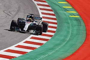 Formel 1 Trainingsbericht Formel 1 2017 in Spielberg: Hamilton vor Vettel im 2. Training