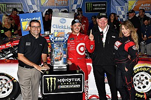 NASCAR Cup Race report Kyle Larson wins at Richmond in chaotic finish