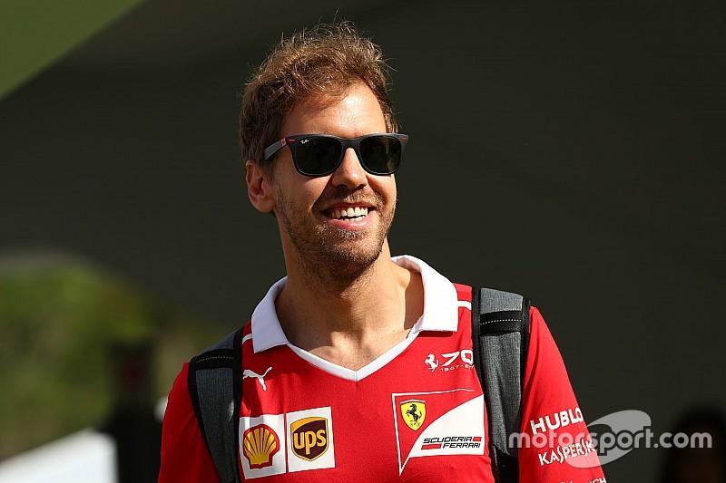 Vettel az FC Barcelona edzésén járt