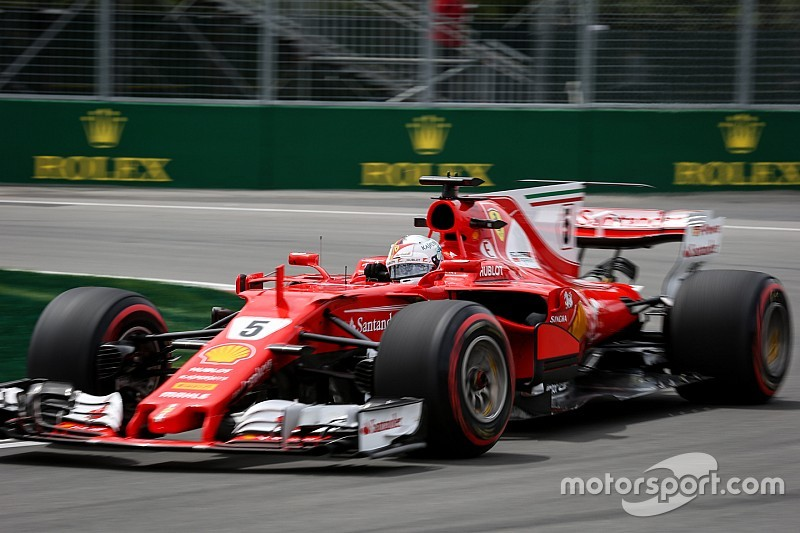 【F1カナダGP】FP3速報:ベッテルがトップタイム。ライコネン2番手