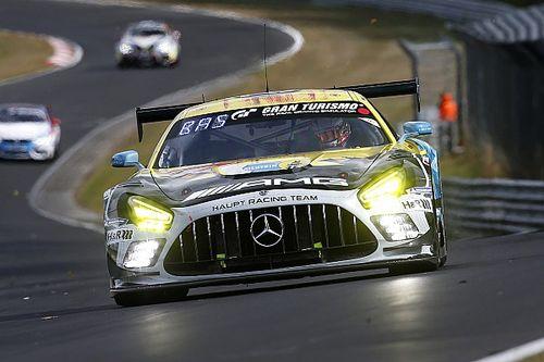 Buurman rozbił Mercedesa
