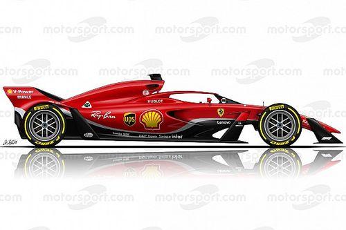 """Ferrari : Le concept F1 2021 ? Comme """"une vieille ChampCar"""" !"""