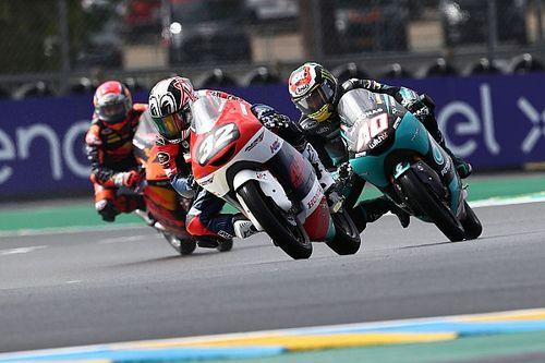 松山拓磨、Moto3ワイルドカード参戦は転倒リタイア。それでも「将来に向けて貴重な経験を積めた」