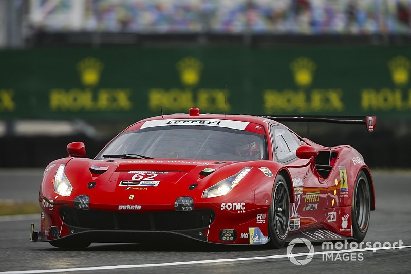 """Risi has """"no chance"""" against factory GTLM teams"""