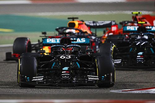 """Russell: Losing victory twice in Bahrain """"really bloody hurt"""""""