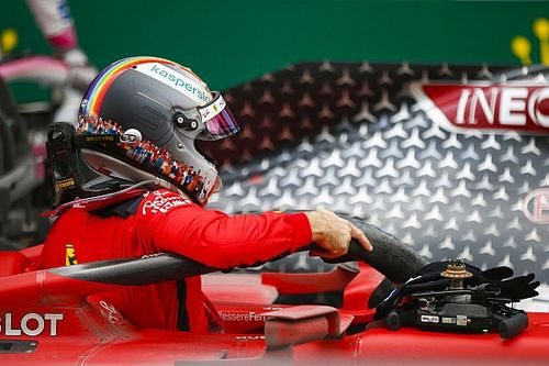 Sebastian Vettel señala el punto débil del Ferrari SF1000