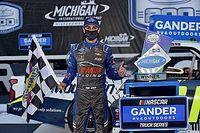 Zane Smith earns first Trucks win in wild OT finish at Michigan