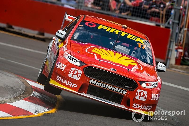 Newcastle Supercars: McLaughlin grabs provisional Sunday pole