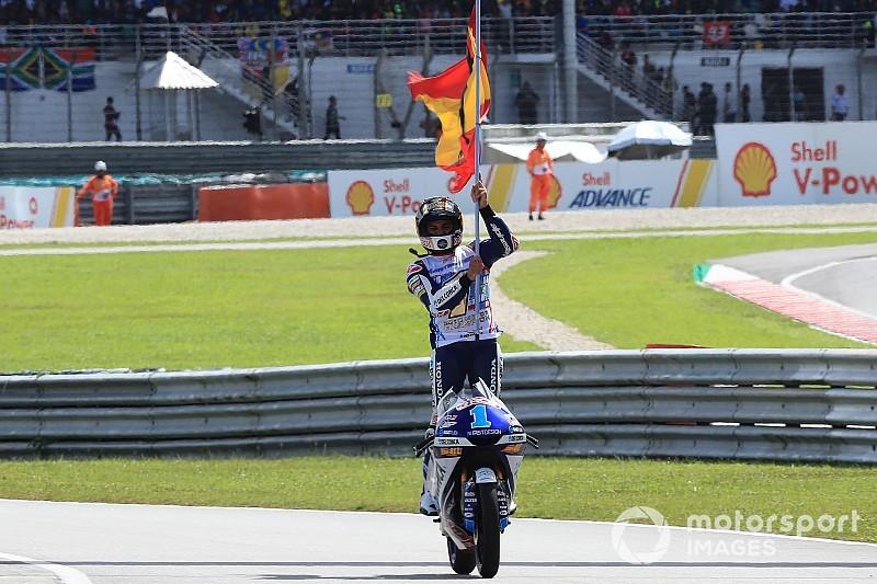Jorge Martín sacré Champion du monde en Moto3!