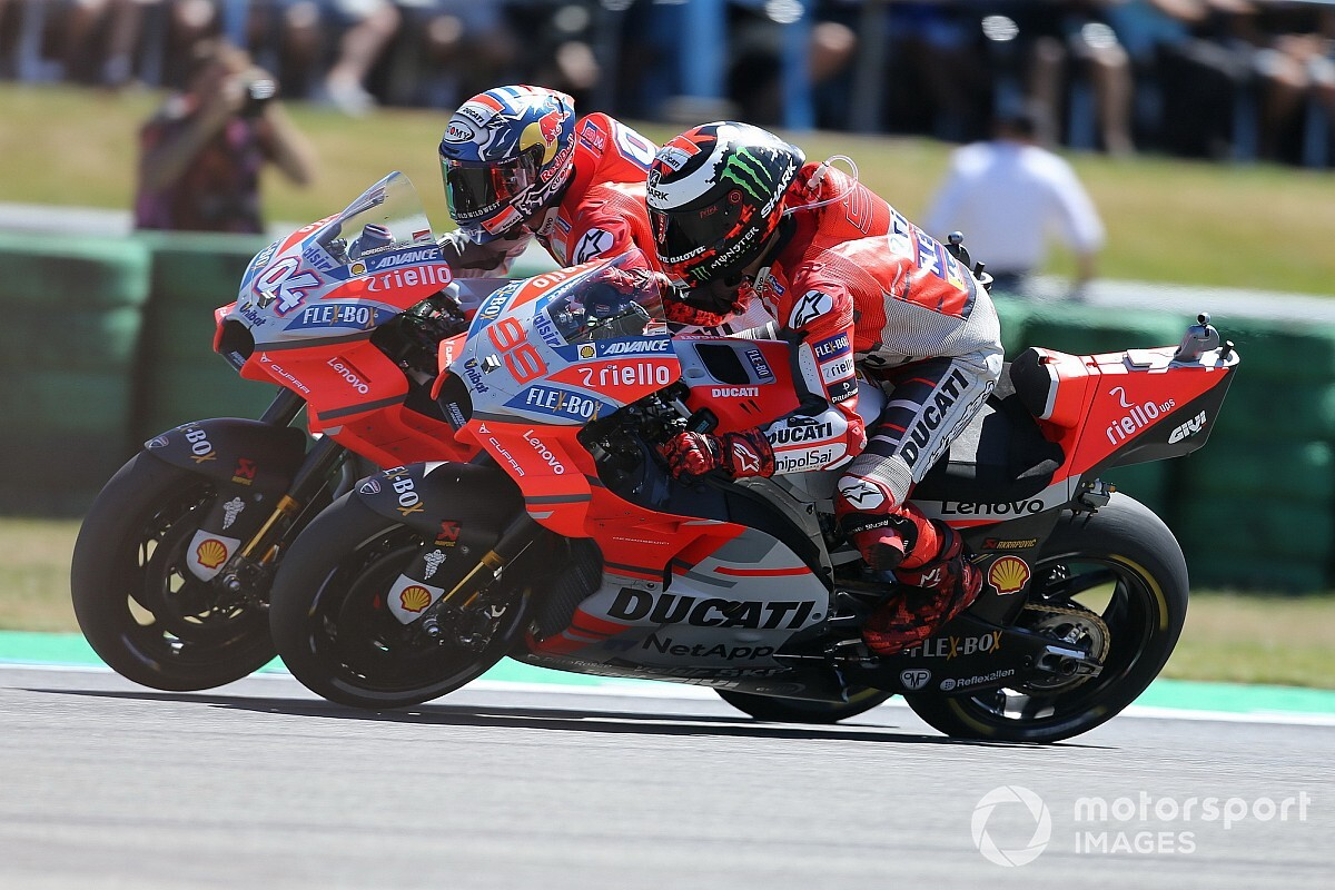Kein Teamwork bei Ducati: