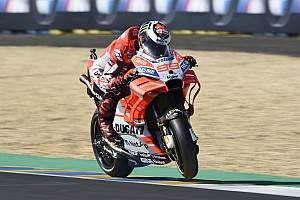 MotoGP Nieuws Lorenzo baalt van 'fysiek zware' machine: