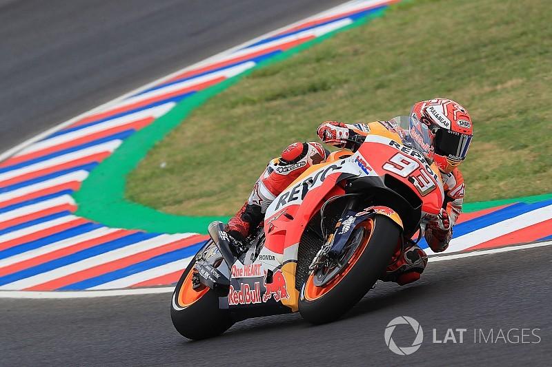 MotoGP Argentina: Marquez puncaki warm-up, Honda dominan