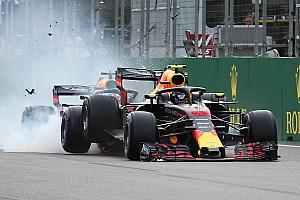 Red Bull, Bakü kazasında Verstappen ve Ricciardo'ya birbirlerini suçlamama talimatı vermiş