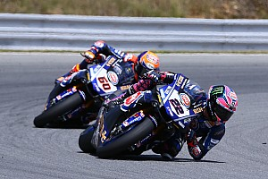 World Superbike Breaking news Yamaha retains Lowes and van der Mark for 2019