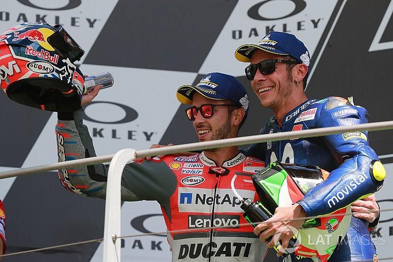 Rossi se alegra com pódio em Mugello:
