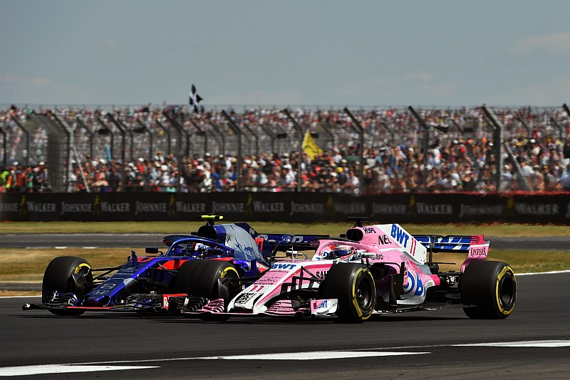 Penalizan a Gasly y Pérez recupera un punto en Silverstone