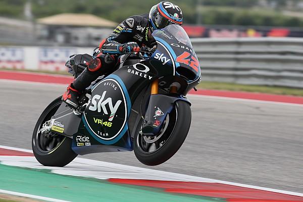 Moto2 Rennbericht Moto2 Austin: Bagnaia siegt vor Marquez - Drama für Schrötter