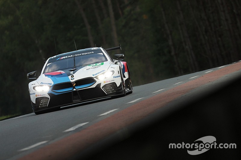 BMW M8's first win a