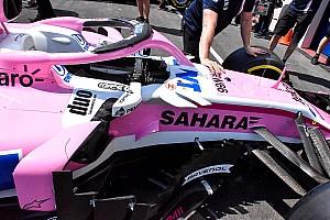 Les évolutions sur les F1 au GP de France