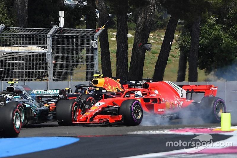 Vettel beismerte, hogy hibázott a rajt után