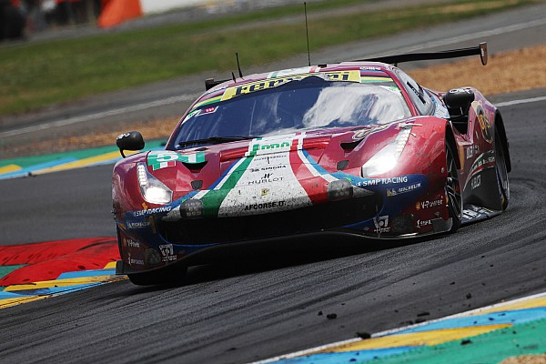 Le Mans Ferrari paid price for 'honesty' at Le Mans - Calado