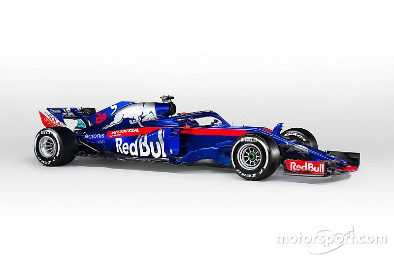 فريق تورو روسو يكشف عن الصور الرسمية لسيارته