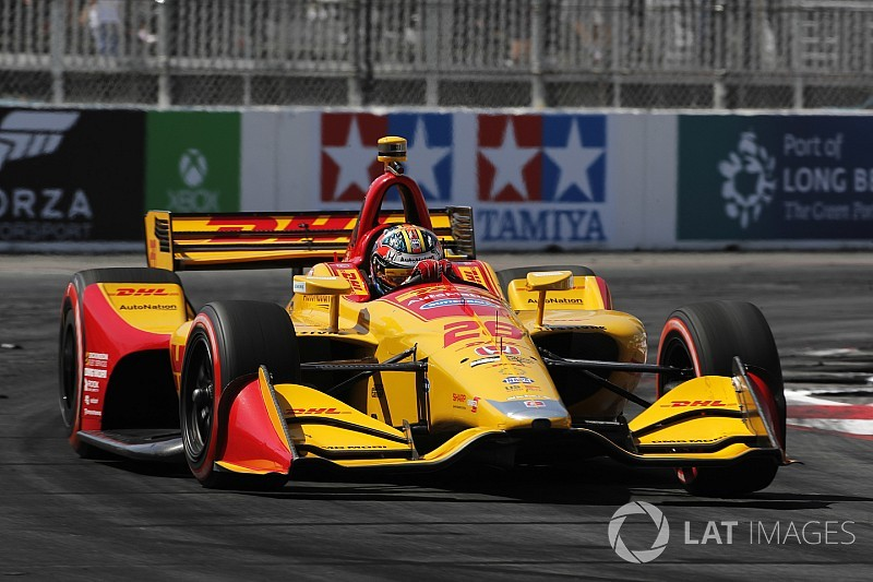 "Hunter-Reay admits his Long Beach race was ""a complete nightmare"""